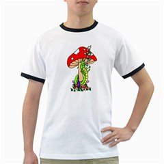 Ped Shrrom and CP PNG Men s Ringer T-shirt by IphavokImpressions