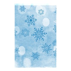 Winter Bokeh Blue Shower Curtain 48  X 72  (small)  by MoreColorsinLife