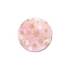 Winter Bokeh Pink Golf Ball Marker (10 Pack) by MoreColorsinLife
