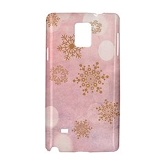 Winter Bokeh Pink Samsung Galaxy Note 4 Hardshell Case