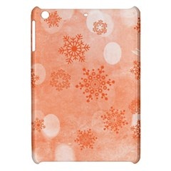 Winter Bokeh Red Apple Ipad Mini Hardshell Case by MoreColorsinLife