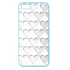 France Hearts Flag Apple Seamless Iphone 5 Case (color) by theimagezone
