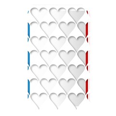 France Hearts Flag Memory Card Reader by theimagezone