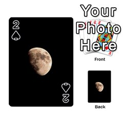 Half Moon Playing Cards 54 Designs  by timelessartoncanvas