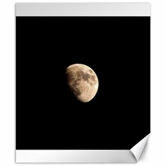 Half Moon Canvas 8  X 10  by timelessartoncanvas
