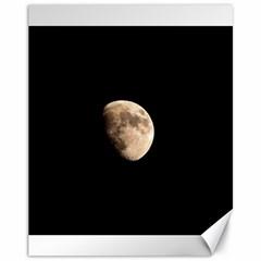 Half Moon Canvas 11  X 14   by timelessartoncanvas