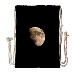 Half Moon Drawstring Bag (large) by timelessartoncanvas
