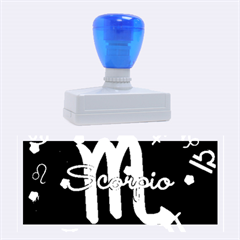 Scorpio Floating Zodiac Name Rubber Stamps (large) by theimagezone