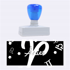 Aries Floating Zodiac Sign Rubber Stamps (large) by theimagezone