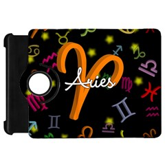 Aries Floating Zodiac Sign Kindle Fire Hd Flip 360 Case by theimagezone