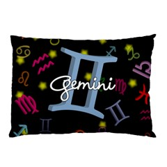 Gemini Floating Zodiac Sign Pillow Cases (two Sides)