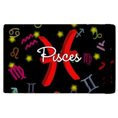Pisces Floating Zodiac Sign Apple Ipad 3/4 Flip Case by theimagezone