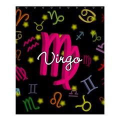 Virgo Floating Zodiac Sign Shower Curtain 60  X 72  (medium)  by theimagezone