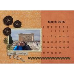 2016 Calendar By Mike Anderson   Desktop Calendar 8 5  X 6    T10dnocgiqkb   Www Artscow Com Mar 2016