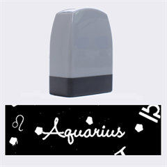 Aquarius Floating Zodiac Name Name Stamps by theimagezone
