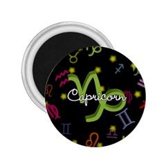 Capricorn Floating Zodiac Name 2 25  Magnets by theimagezone