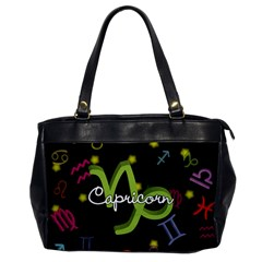 Capricorn Floating Zodiac Name Office Handbags by theimagezone