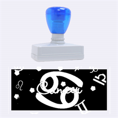 Cancer Floating Zodiac Name Rubber Stamps (large) by theimagezone