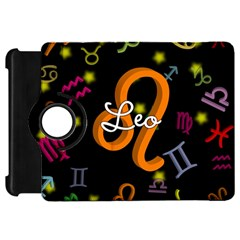 Leo Floating Zodiac Name Kindle Fire Hd Flip 360 Case by theimagezone