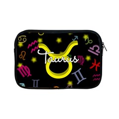 Taurus Floating Zodiac Name Apple iPad Mini Zipper Cases by theimagezone