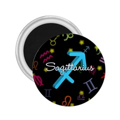 Sagittarius Floating Zodiac Name 2 25  Magnets by theimagezone