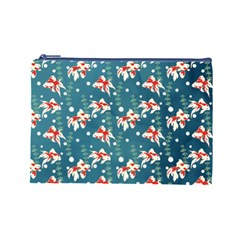 Fish By Dress 2   Cosmetic Bag (large)   1dkhfn28gzyt   Www Artscow Com Front
