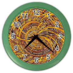 Happy Hot Color Wall Clocks by MoreColorsinLife