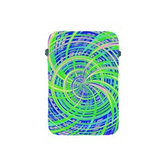 Happy Green Apple Ipad Mini Protective Soft Cases by MoreColorsinLife