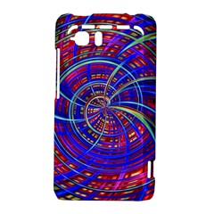 Happy Red Blue HTC Vivid / Raider 4G Hardshell Case  by MoreColorsinLife