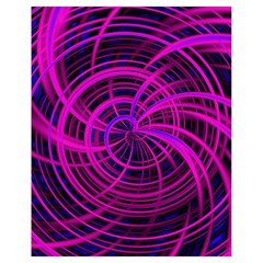 Happy, Black Pink Drawstring Bag (small) by MoreColorsinLife