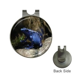 Blue Poison Arrow Frog Hat Clips With Golf Markers by stineshop