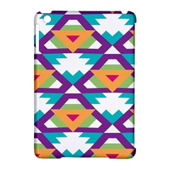 Triangles And Other Shapes Pattern Apple Ipad Mini Hardshell Case (compatible With Smart Cover) by LalyLauraFLM