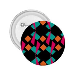 Shapes In Retro Colors  2 25  Button by LalyLauraFLM