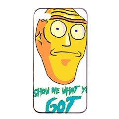 Show Me What You Got New Fresh Apple Iphone 4/4s Seamless Case (black) by kramcox