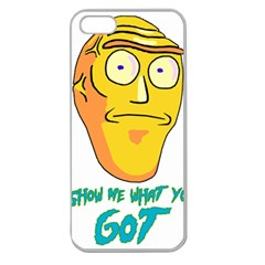 Show Me What You Got New Fresh Apple Seamless Iphone 5 Case (clear) by kramcox
