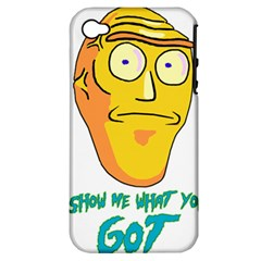 Show Me What You Got New Fresh Apple Iphone 4/4s Hardshell Case (pc+silicone) by kramcox