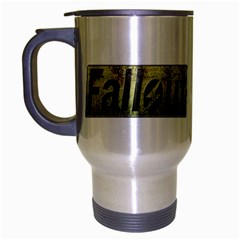 Fallout cup Travel Mug (Silver Gray) by TheDean