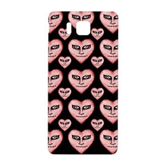 Angry Devil Hearts Seamless Pattern Samsung Galaxy Alpha Hardshell Back Case by dflcprints