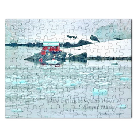 Who Being Loved Is Poor: Puzzle By Pamela Sue Goforth   Jigsaw Puzzle (rectangular)   Q0bt6xyvjs8f   Www Artscow Com Front