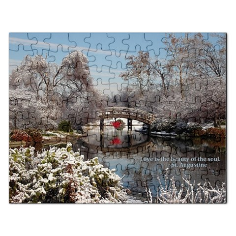 Love Is The Bueaty Of The Soul: Puzzle By Pamela Sue Goforth   Jigsaw Puzzle (rectangular)   2ye64g6wxd7l   Www Artscow Com Front