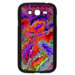 Happy 3 Red Samsung Galaxy Grand Duos I9082 Case (black) by MoreColorsinLife