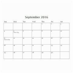 Lee By Tina   Wall Calendar 8 5  X 6    6s4oihm4aemc   Www Artscow Com Sep 2016