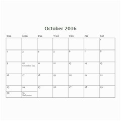 Lee By Tina   Wall Calendar 8 5  X 6    6s4oihm4aemc   Www Artscow Com Oct 2016