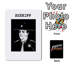 Psycho Raiders V1 By Mark Chaplin   Playing Cards 54 Designs   Jl183eqcpege   Www Artscow Com Front - Spade3