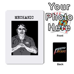 Psycho Raiders V1 By Mark Chaplin   Playing Cards 54 Designs   Jl183eqcpege   Www Artscow Com Front - Heart3