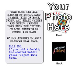 Psycho Raiders V1 By Mark Chaplin   Playing Cards 54 Designs   Jl183eqcpege   Www Artscow Com Front - Heart8