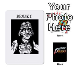 Psycho Raiders V1 By Mark Chaplin   Playing Cards 54 Designs   Jl183eqcpege   Www Artscow Com Front - Diamond2