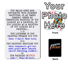 Psycho Raiders V1 By Mark Chaplin   Playing Cards 54 Designs   Jl183eqcpege   Www Artscow Com Front - Diamond6