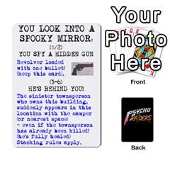 Psycho Raiders V1 By Mark Chaplin   Playing Cards 54 Designs   Jl183eqcpege   Www Artscow Com Front - Club4