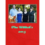 familychristmascard - Greeting Card 4.5  x 6